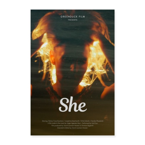 She Movie Poster - Poster 60x90 cm
