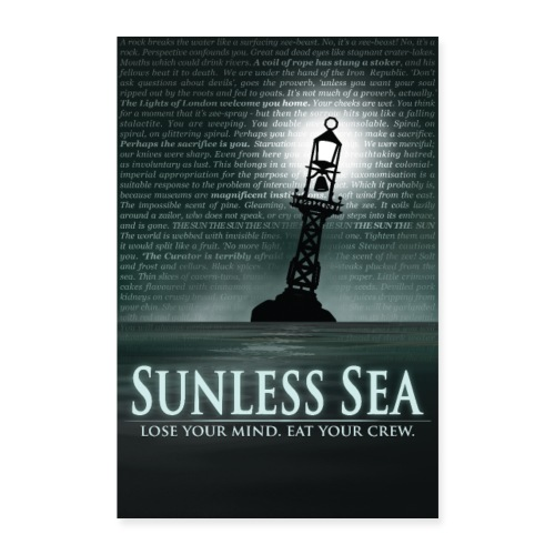 Sunless Sea Poster - Poster 24 x 35 (60x90 cm)