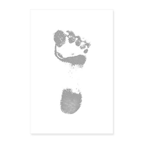 Footprint - Póster 60x90 cm