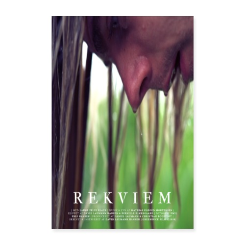Rekviem LysPlakat - Poster 60x90 cm