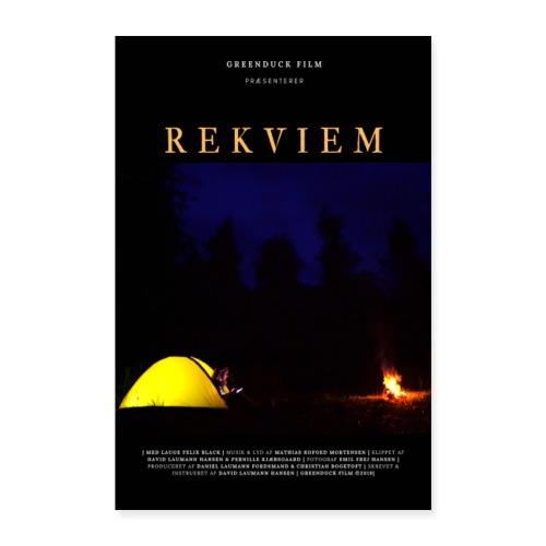 Rekviem Plakat - Poster 60x90 cm