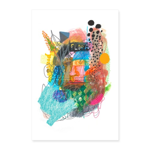 FLORA - Poster 60x90 cm