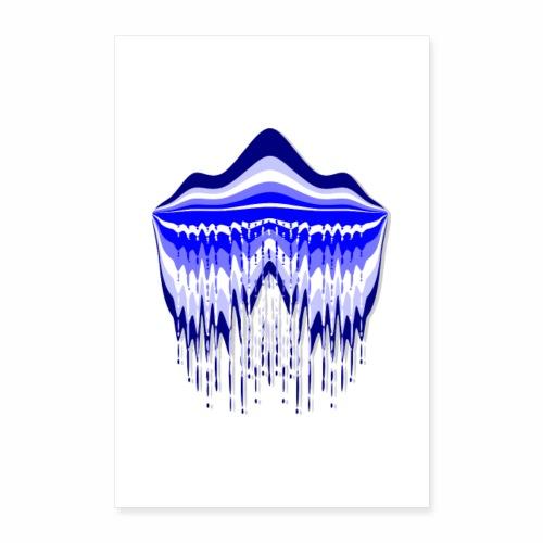 Blue Lagoon - Poster 24 x 35 (60x90 cm)