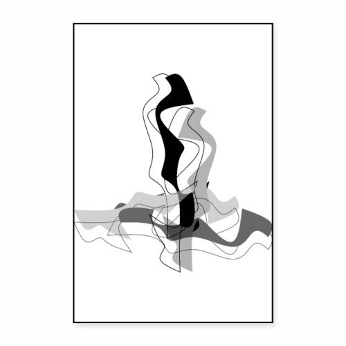 Les Amoureux - Poster 24 x 35 (60x90 cm)