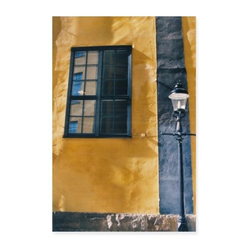 Swedish street - Póster 60x90 cm