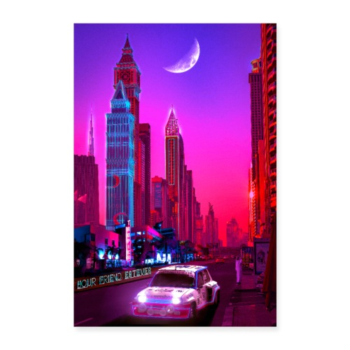 Dubai Nights - Poster 24 x 35 (60x90 cm)