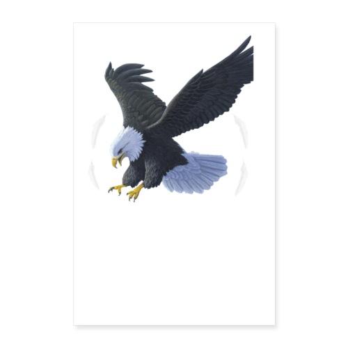 Eagle Icon of Farbagê - Poster 60x90 cm