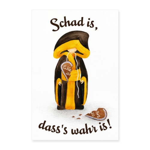 Koa Wiesn 2020 Poster – Trauriges Münchner Kindl - Poster 60x90 cm