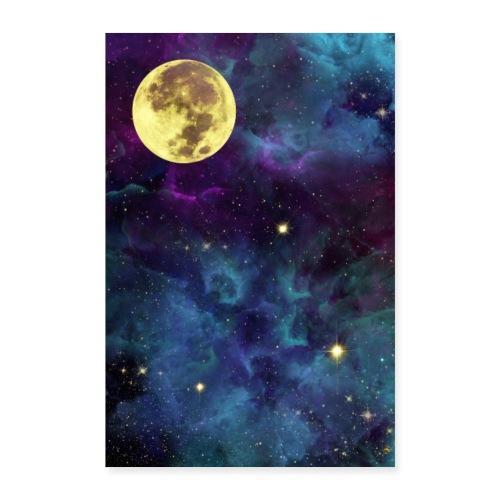 Golden Universe - Poster 60x90 cm