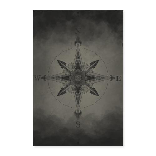 Kompass - Poster 60x90 cm
