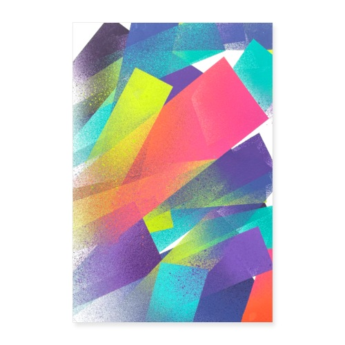 Olavi Viheriälä - Magic Run - Print - Poster 24 x 35 (60x90 cm)