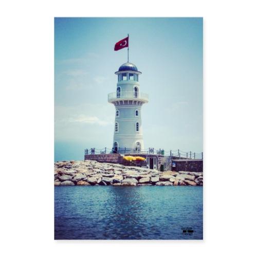Leuchtturm Reisen Outdoor / Foto - Events&Reisen - Poster 60x90 cm