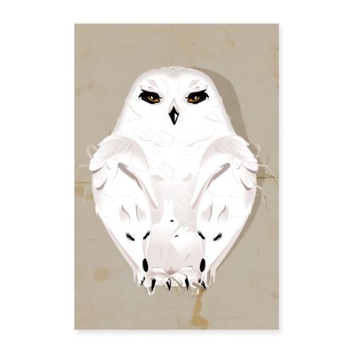 Wintertier - Poster 60x90 cm