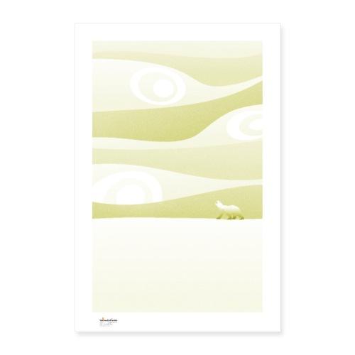 Calm / monochrome - Póster 40x60 cm