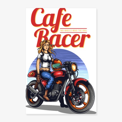 Cafe Racer - Poster 40 x 60 cm