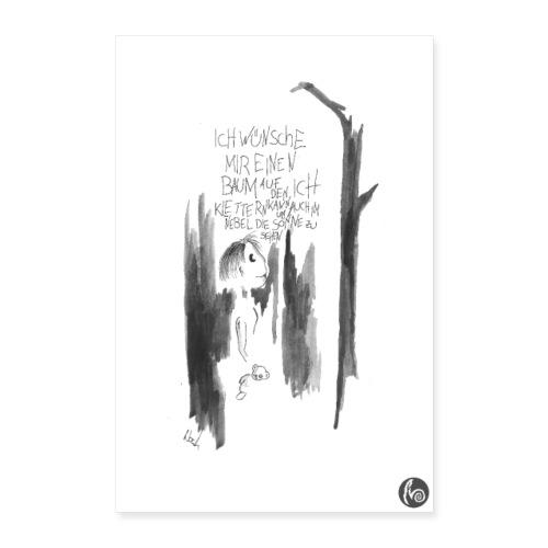 DerWunsch Poster - Poster 40x60 cm