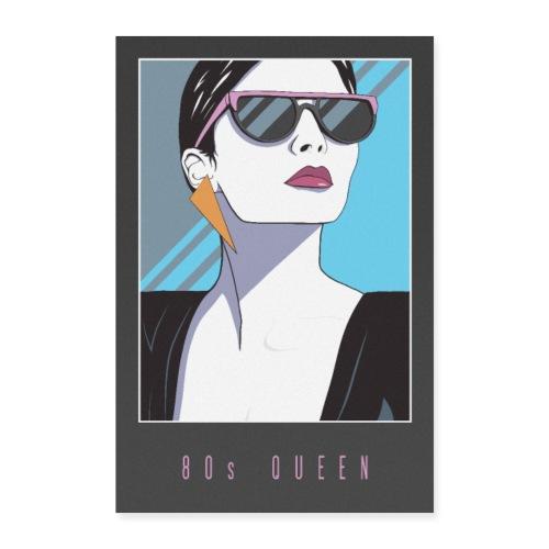 80s QUEEN - Poster 40x60 cm