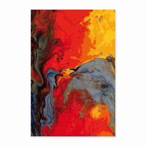 Magma - Poster 40x60 cm