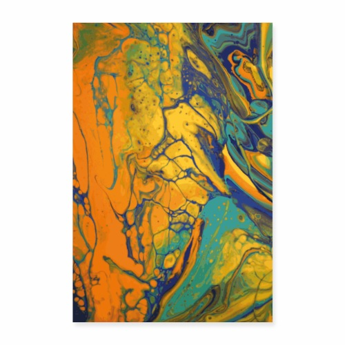 Yellow Cell - Poster 40x60 cm