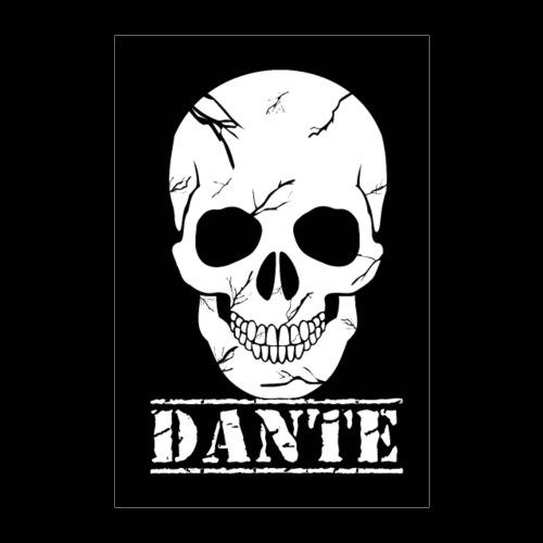 Skull Of Death Poster Dante - Poster 40x60 cm