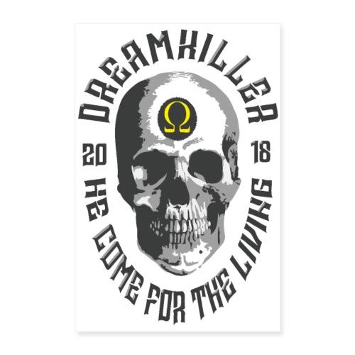 dreamkiller skull poster - Poster 40x60 cm