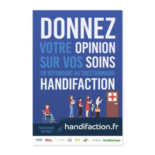 Affiche Handifaction 2018 - Poster 40 x 60 cm