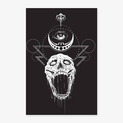 poster nocturn 2 - Poster 40 x 60 cm