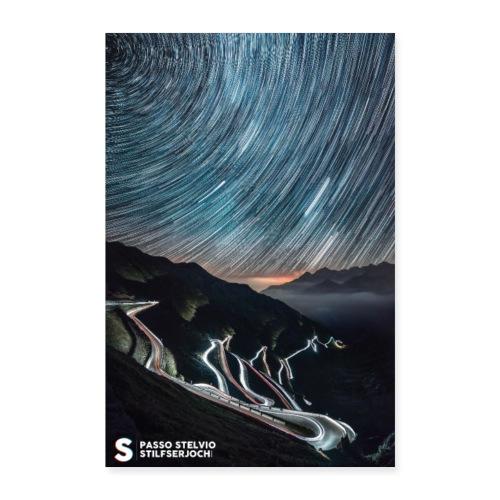 Nacht zum Schritt - Poster 40x60 cm