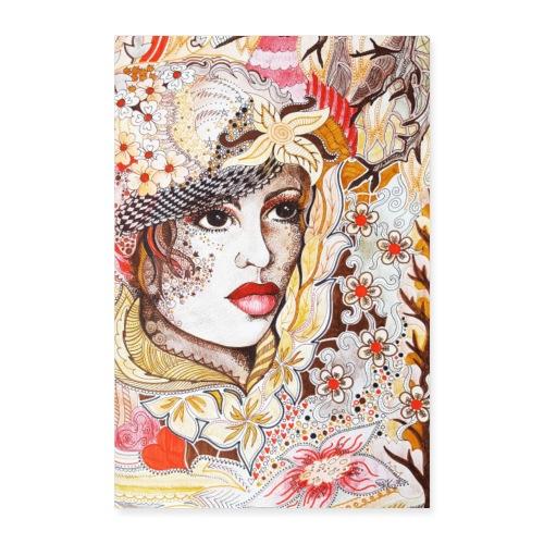 Tant Brun Poster - Poster 40x60 cm