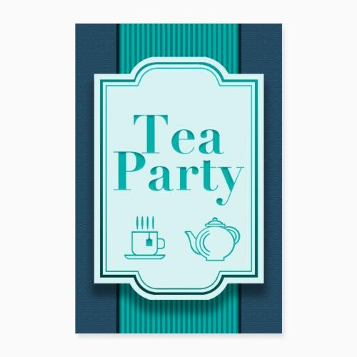 Tea Party - Poster 16 x 24 (40x60 cm)