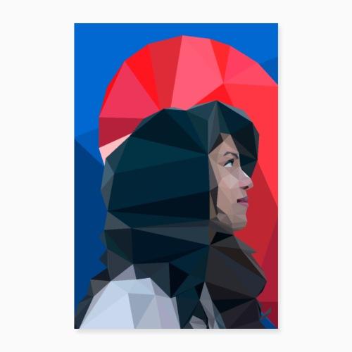 Kalahalfheart - Poster 16 x 24 (40x60 cm)