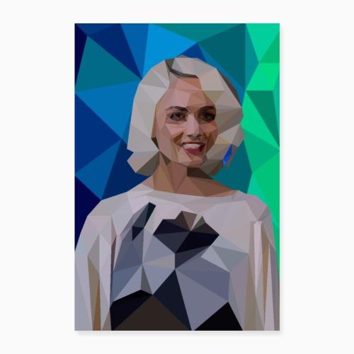 RileyBlue - Poster 16 x 24 (40x60 cm)