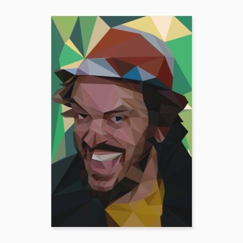 FunnyFaceBug - Poster 16 x 24 (40x60 cm)