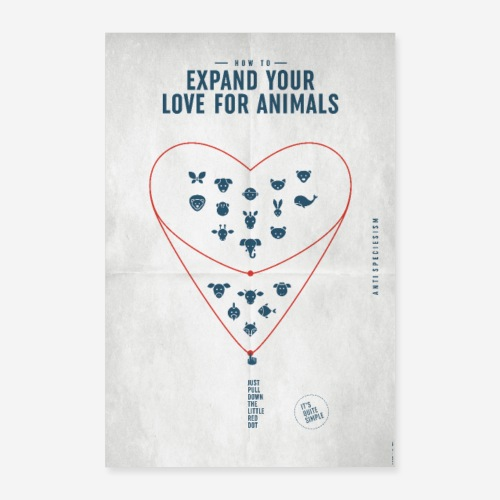Poster Expand your love... (Special Edition) - Poster 40x60 cm