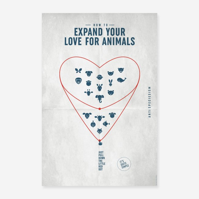 """Poster """"Expand your love..."""" (Special Edition)"""