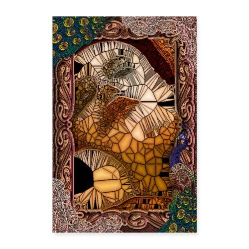 ephemeral vitrail new - Poster 40 x 60 cm