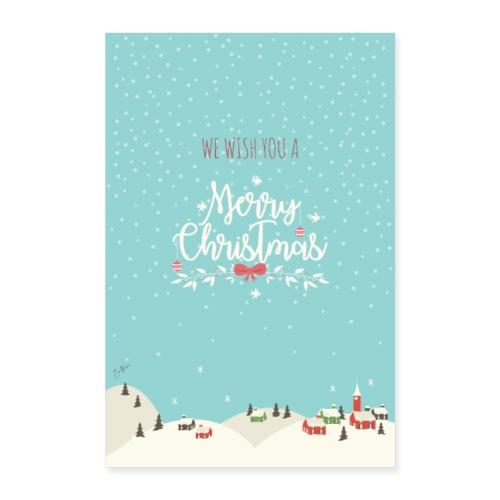 Christmas Design v1 - Poster 40x60 cm
