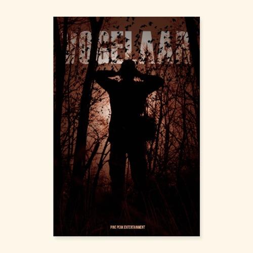 Vogelaar officiele poster - Poster 40x60 cm