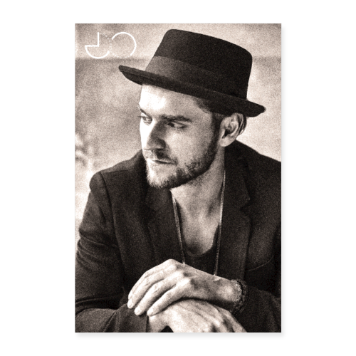Johannes Oerding Foto - Poster 40x60 cm
