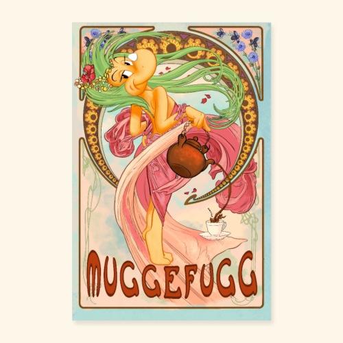 Muggefugg - Poster 40x60 cm