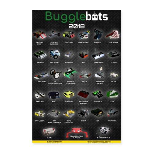 Bugglebots 2018 Poster - Poster 16 x 24 (40x60 cm)
