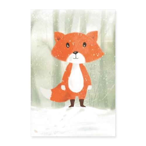 Der Fuchs - Poster 40x60 cm
