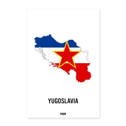 BLKN. x MAP (Yugoslavia) - Poster 16 x 24 (40x60 cm)