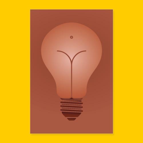 Bulb - Poster 40x60 cm