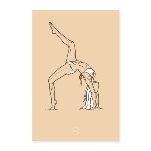 Yoga - Poster 40 x 60 cm