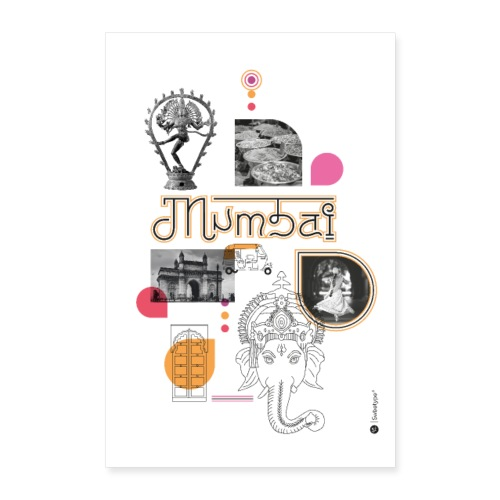 MUMBAI - Poster 40 x 60 cm