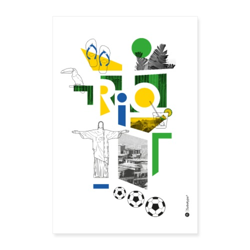 RIO - Poster 40 x 60 cm