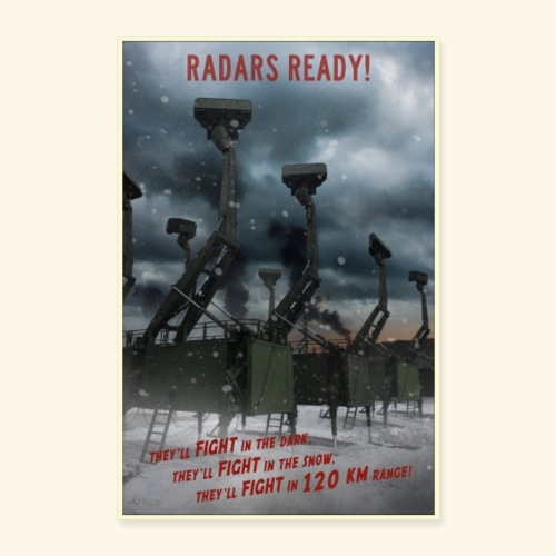 PROPAGAMBA - Radars Ready! - Poster 40x60 cm
