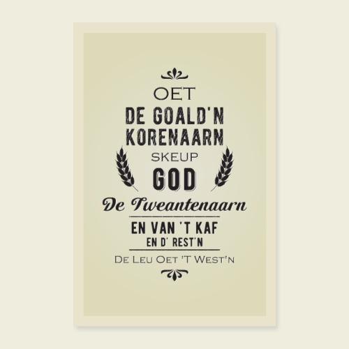 Tweantenaarn - Poster 40x60 cm