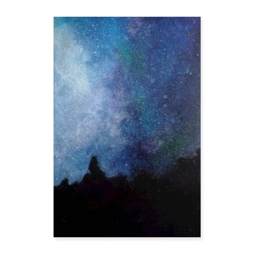 Obraz Gwiazdy, przedruk z oryginału. - Plakat o wymiarach 40x60 cm